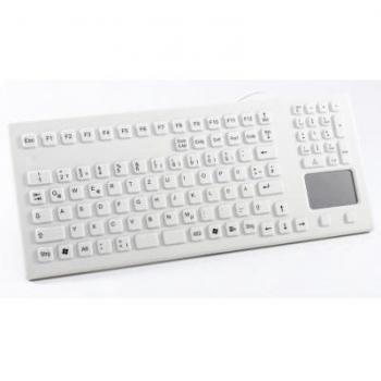 InduKey TKG-107-TOUCH-IP68-WHITE-USB-US/CYR